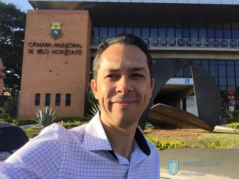 Tcharlye Guedes Ferreira em Audiência Publica Câmara Municipal de Belo Horizonte