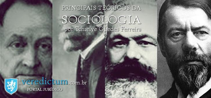 COMTE Èmile Durkheim Max Weber Karl Marx por Tcharlye Guedes Ferreira