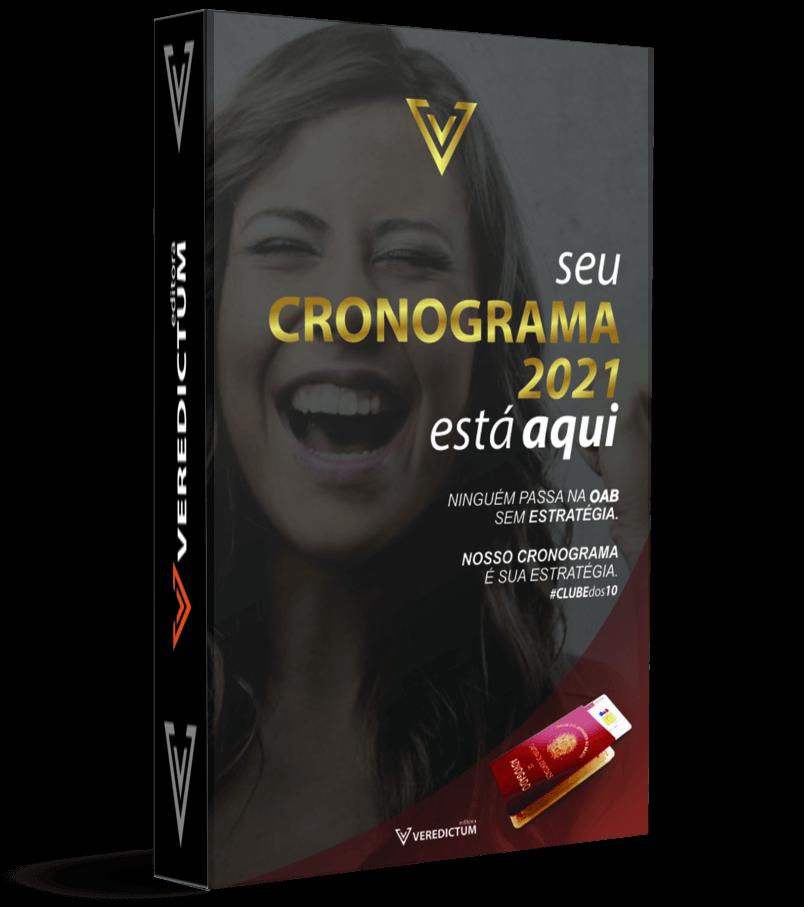 CRONOGRAMA OAB 2021 ATUALIZADO